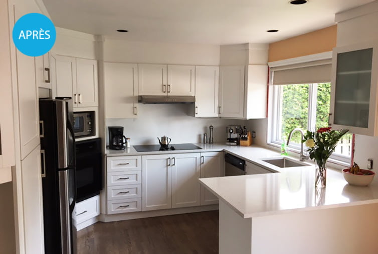 Projects - Refacing - Ressurfaçage d\'armoires de cuisines ...