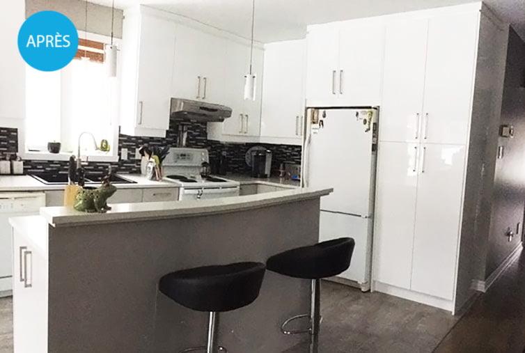 Rénovation de cuisine à St-Hubert