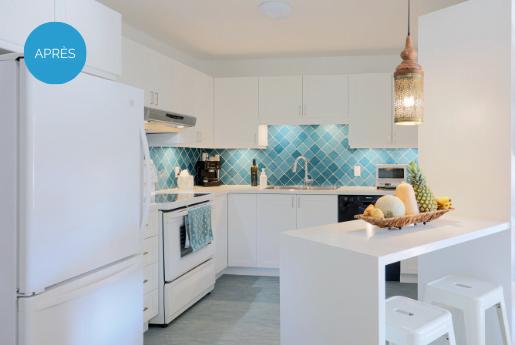 Kitchen renovation in Saint-Jean-sur-Richelieu