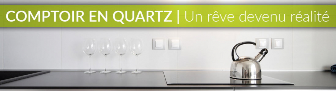 Comptoir de cuisine en quartz : un rêve devenu réalité