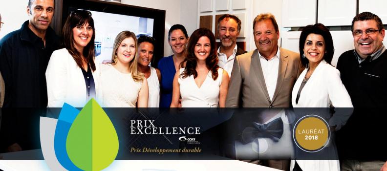 Éco Cuisine Design, lauréat d'un prix valorisant le développement durable