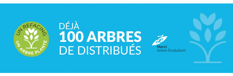 Partenariat vert avec Arbre-Évolution<br>