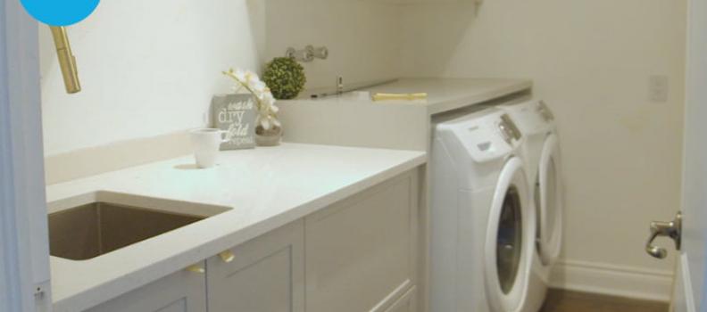 Rénovation d'une salle de lavage